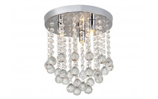 Lampa sufitowa kryształowa IP44 18031