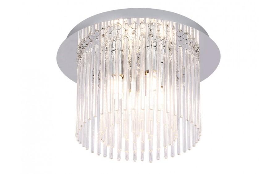 Lampa sufitowa kryształowa IP44 18089-M łazienkowa
