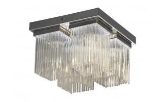 Lampa sufitowa kryształowa IP44 łazienkowa