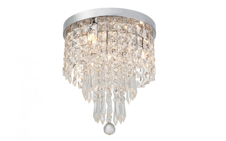Lampa wisząca kryształowa 25 cm 18046