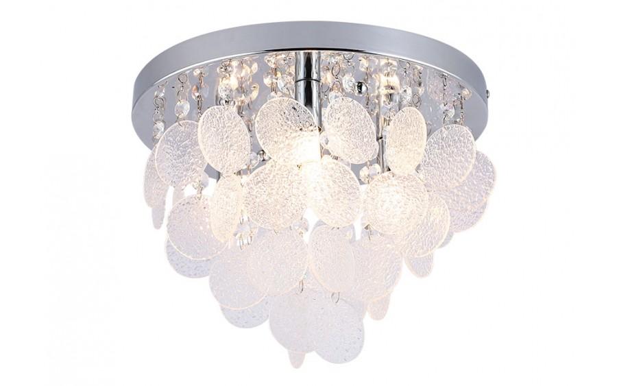 Lampa wisząca kryształowa łazienkowa IP44 18136-L