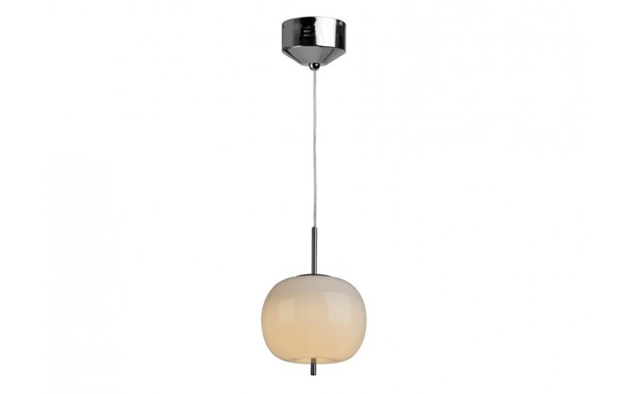 Lampa wisząca Jabłko MD5069 - 1 srebrna