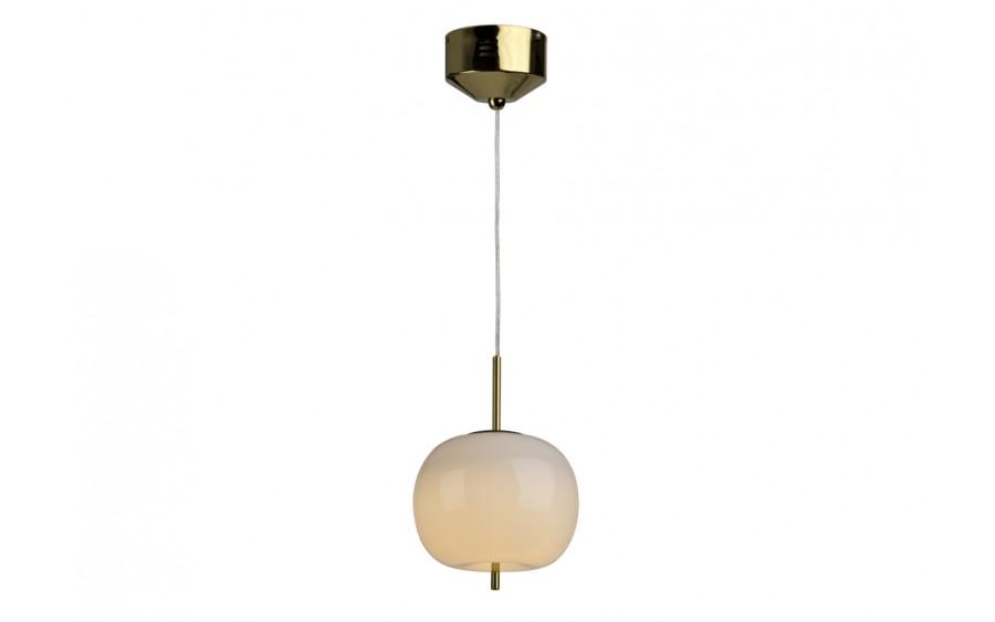 Lampa wisząca Jabłko MD5069 - 1GL złota