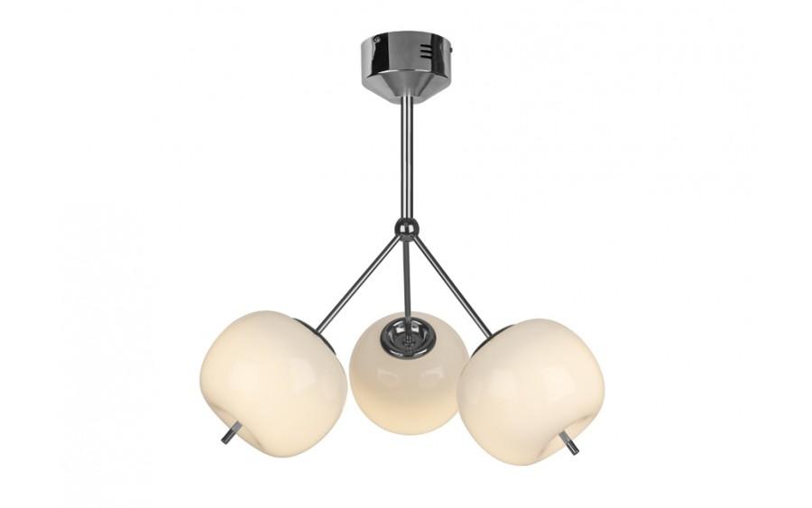 Lampa Jabłko MC5069-3 srebrna