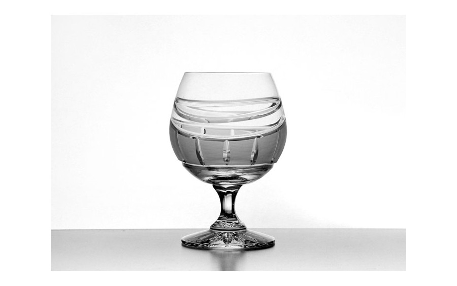 Kieliszek kryształowy Zawiercie do koniaku 250ml
