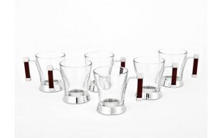 Komplet 6 szklanek 200 ml Zen