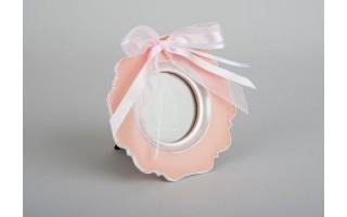 Różowa ramka na zdjęcia (14x14)