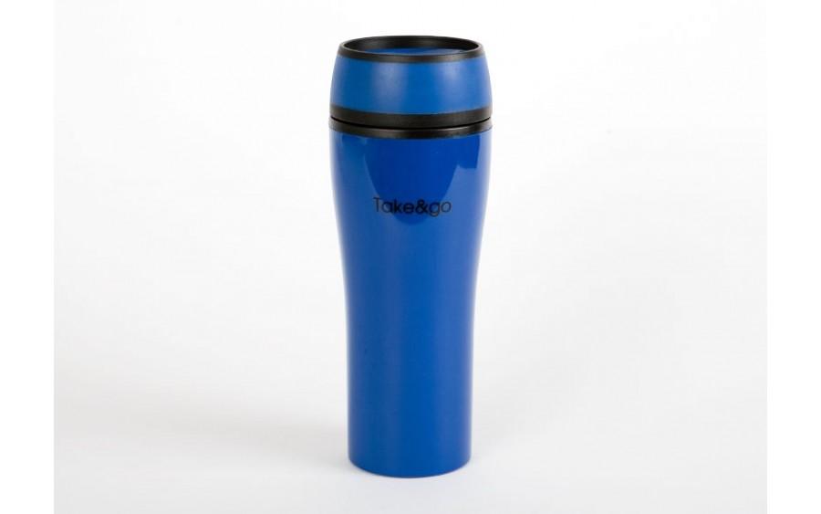 Kubek termiczny Take and Go 500ml - niebieski