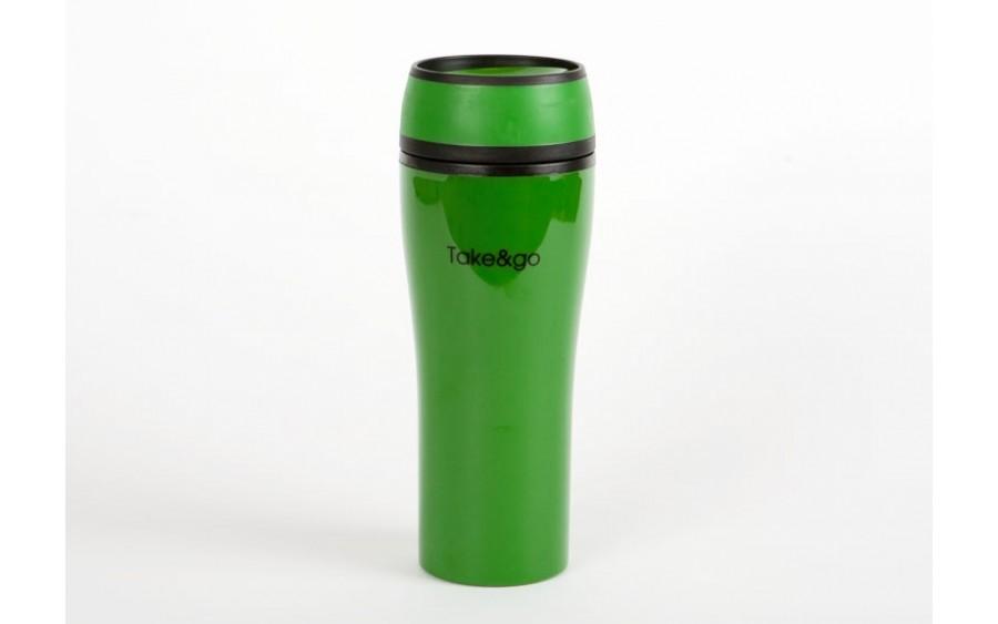 Kubek termiczny Take and Go 500ml - zielony