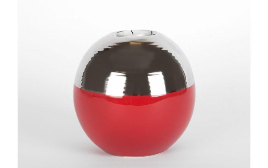 Świecznik 13cm Awangarda czerwony