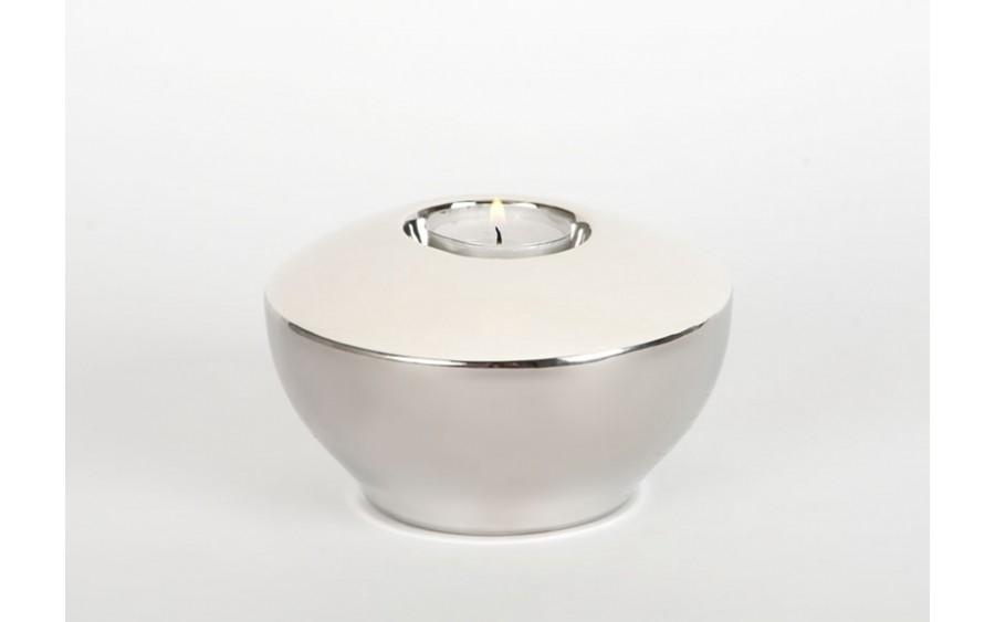Świecznik 7cm - biały