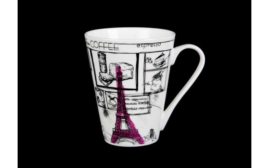 Kubek Paris 300ml (różowy)