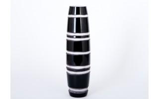 Wazon czarny 30cm