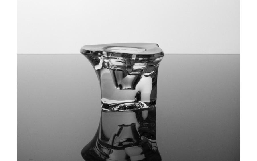 Świecznik kryształowy 6cm Swarovski