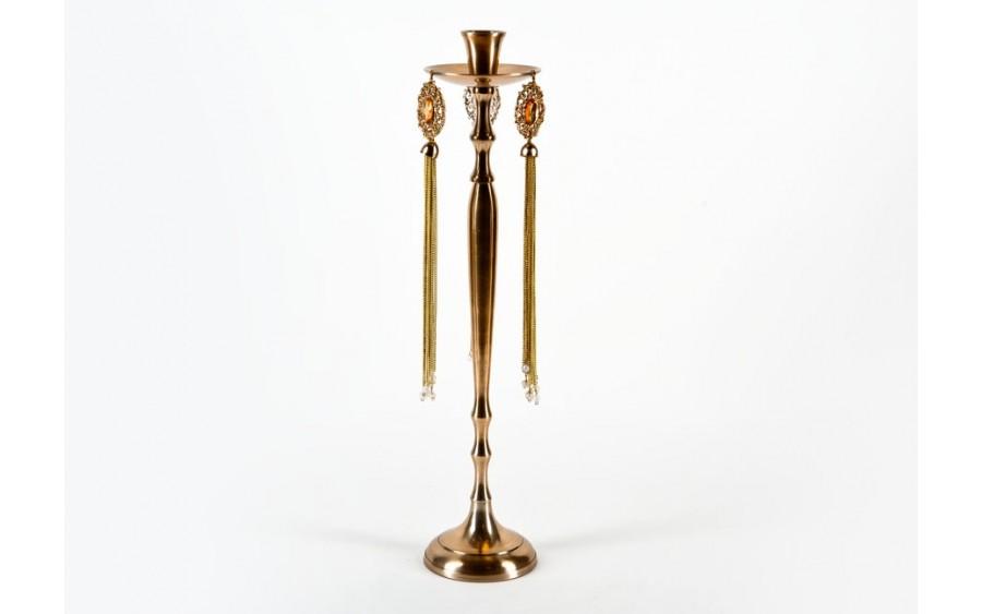 Świecznik metalowy 51cm