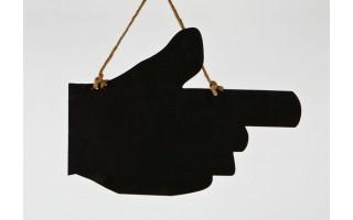 Tablica - Ręka