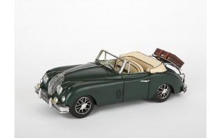 Model samochodu Jaguar 1959 zielony
