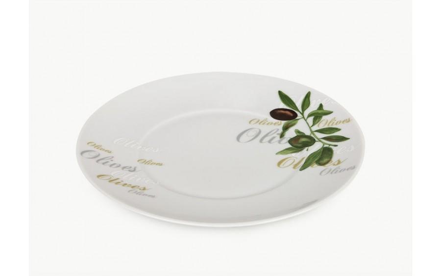 Talerz płytki śr. 21cm Olives