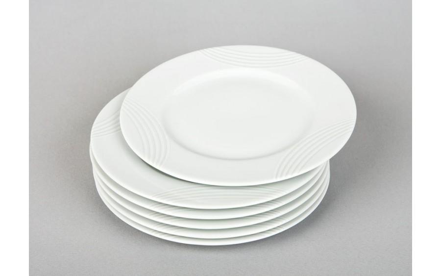 Komplet talerzy deserowych 20cm (6 szt.) Sylvan