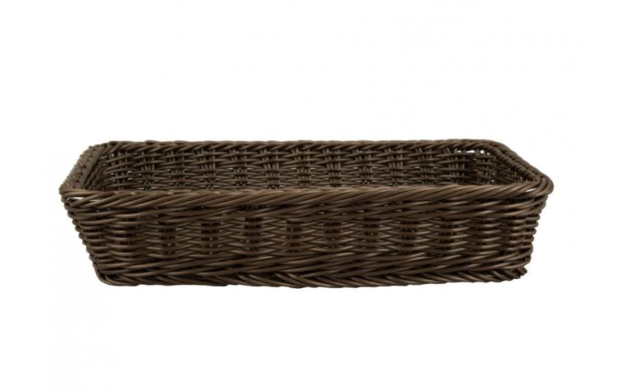 Koszyk na pieczywo brązowy Sante