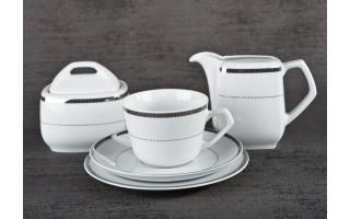 Serwis do kawy 6/20 Marcello Silver