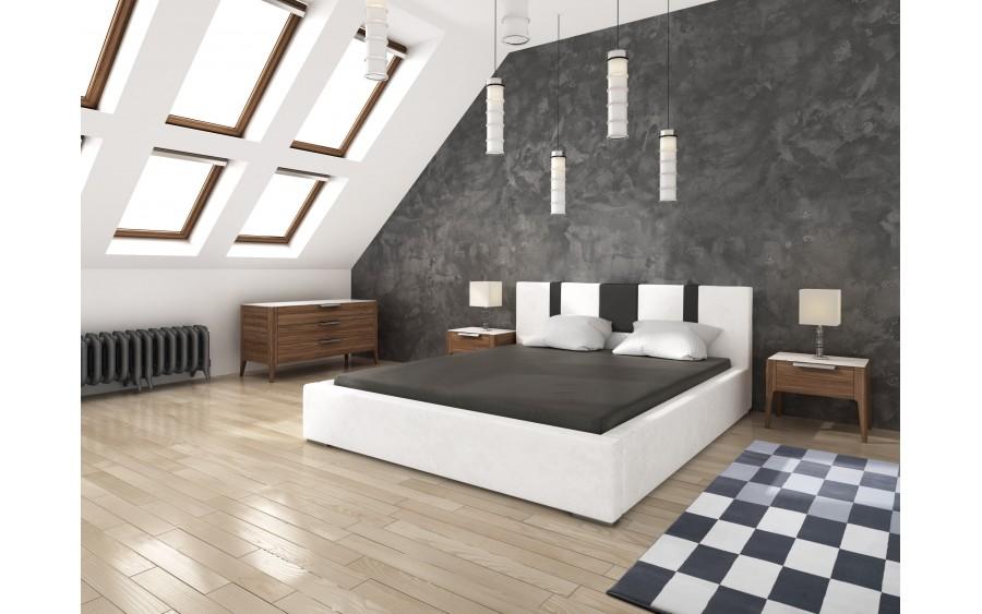 Model IV łóżko tapicerowane