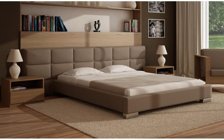 Model V łóżko tapicerowane