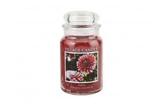 Dahlia candle 18cm
