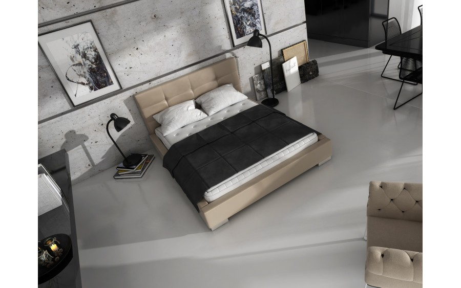 Model VIII łóżko tapicerowane