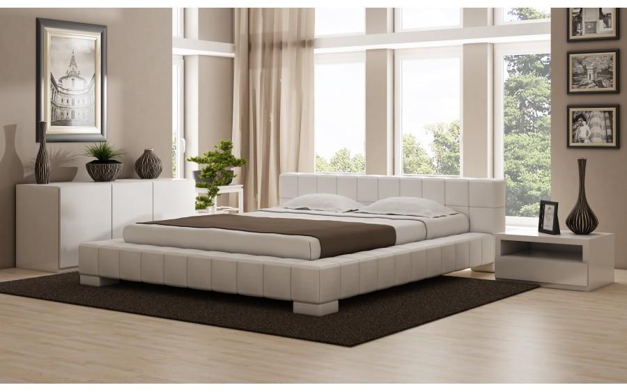 Model IX łóżko tapicerowane