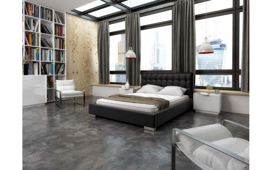 Model XI łóżko tapicerowane