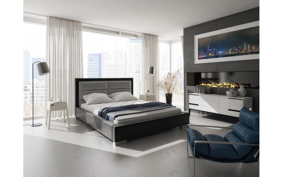Model XII łóżko tapicerowane