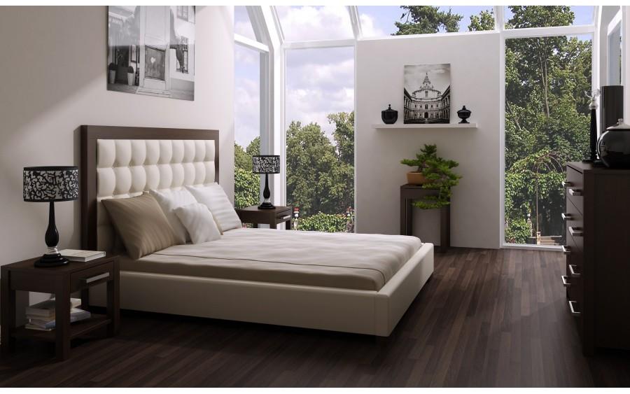 Model XIV łóżko tapicerowane