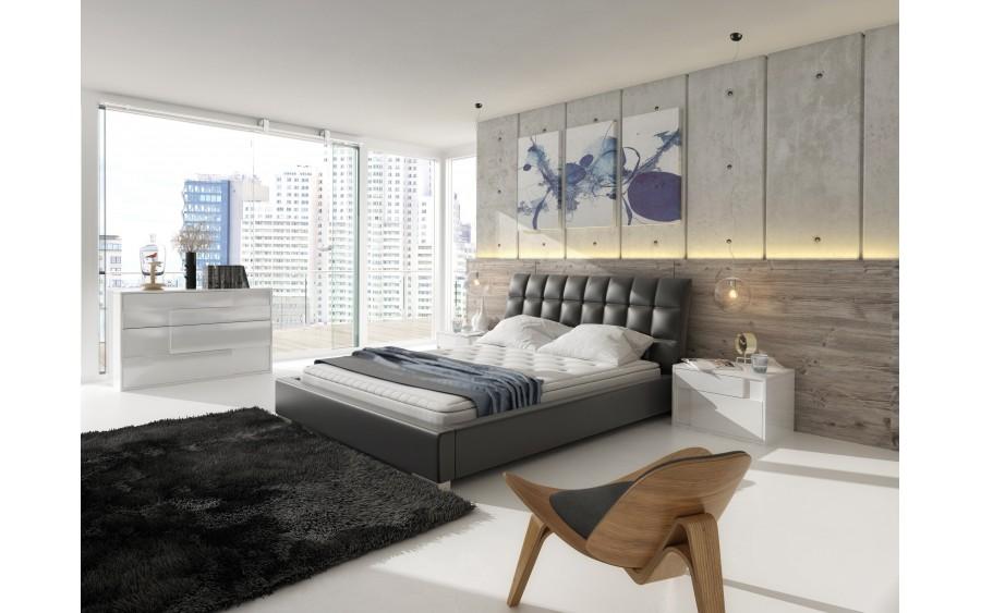 Model XV łóżko tapicerowane