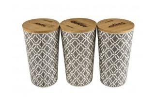 Zestaw pojemników bambusowych maroko