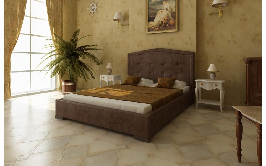 Model XVIII łóżko tapicerowane
