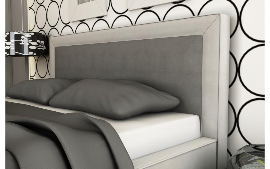 Model XIX łóżko tapicerowane