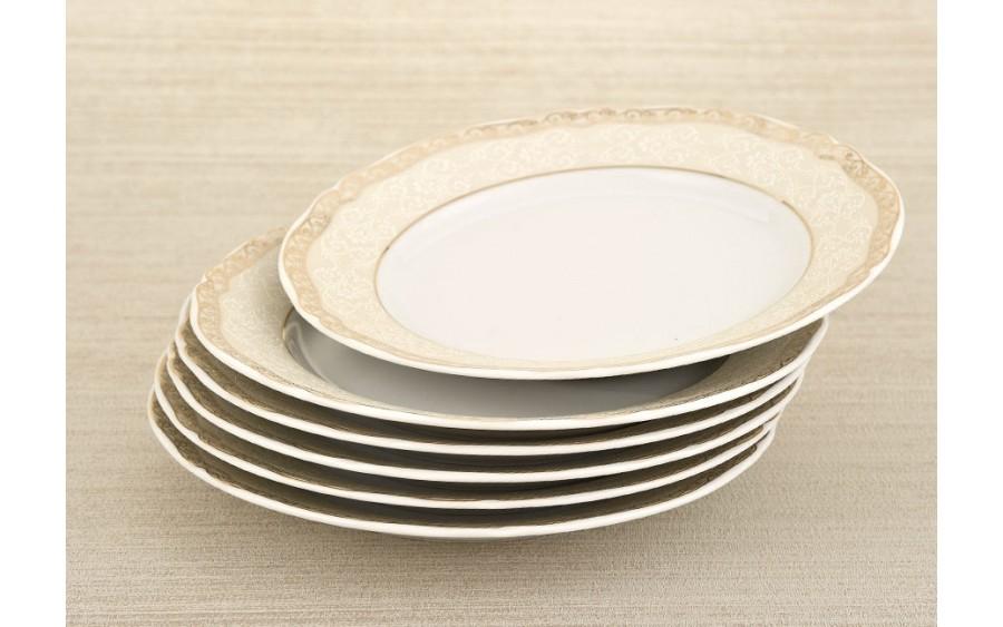 Kpl. 6 talerzy deserowych 21cm Oksana