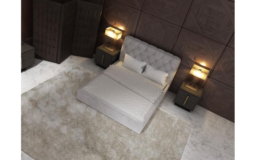 Model XXII łóżko tapicerowane