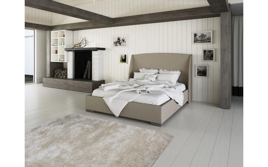 Luxury IV łóżko tapicerowane