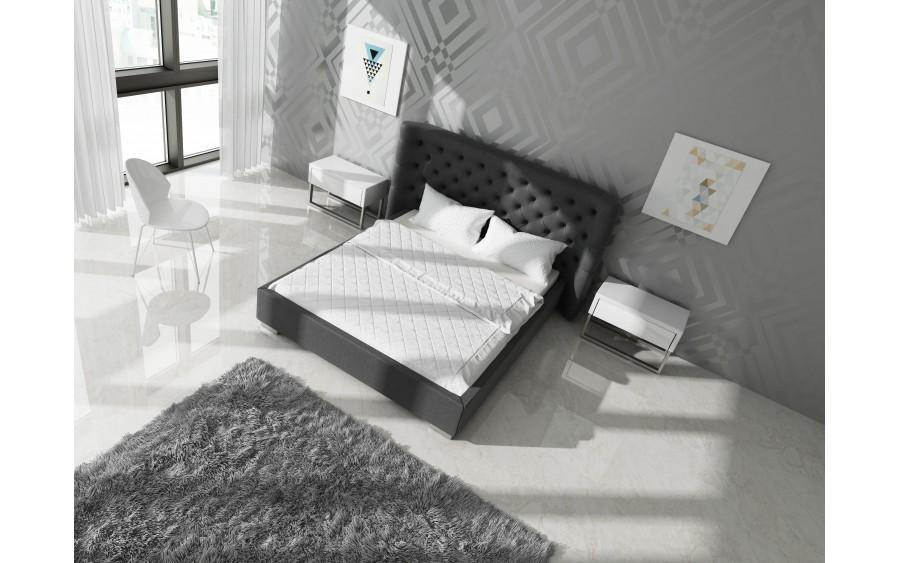 Luxury VI łóżko tapicerowane