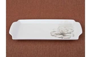 Tacka prostokątna 36cm Piwonia/Peony