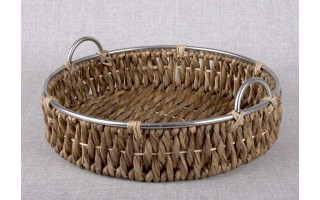 Taca koszyk 46cm hiacynt wodny