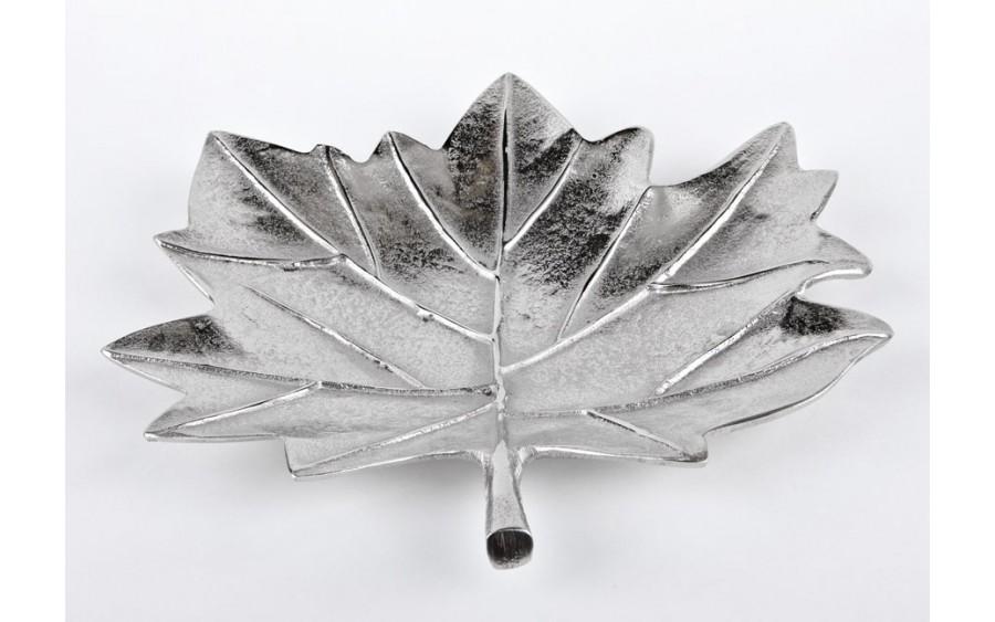 Patera liść Silver