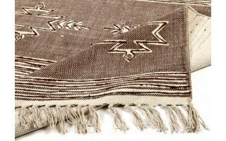 Dywan bawełniany 160x230 Gamba Brown/Beige