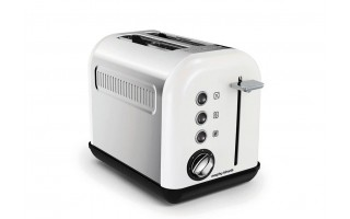 Toster Accents White 2 tosty Morphy Richards