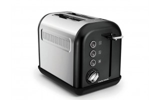 Toster Accents Black 2 tosty Morphy Richards