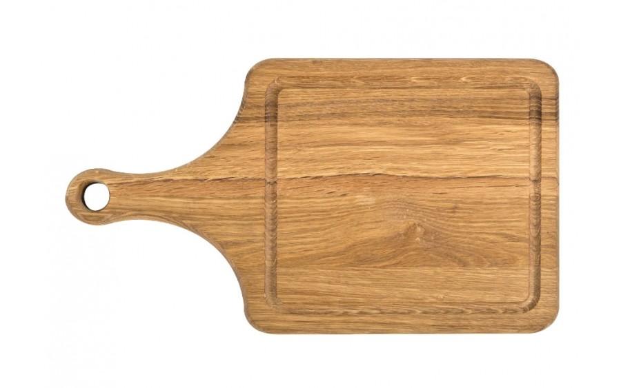 Deska do krojenia dębowa 35cm