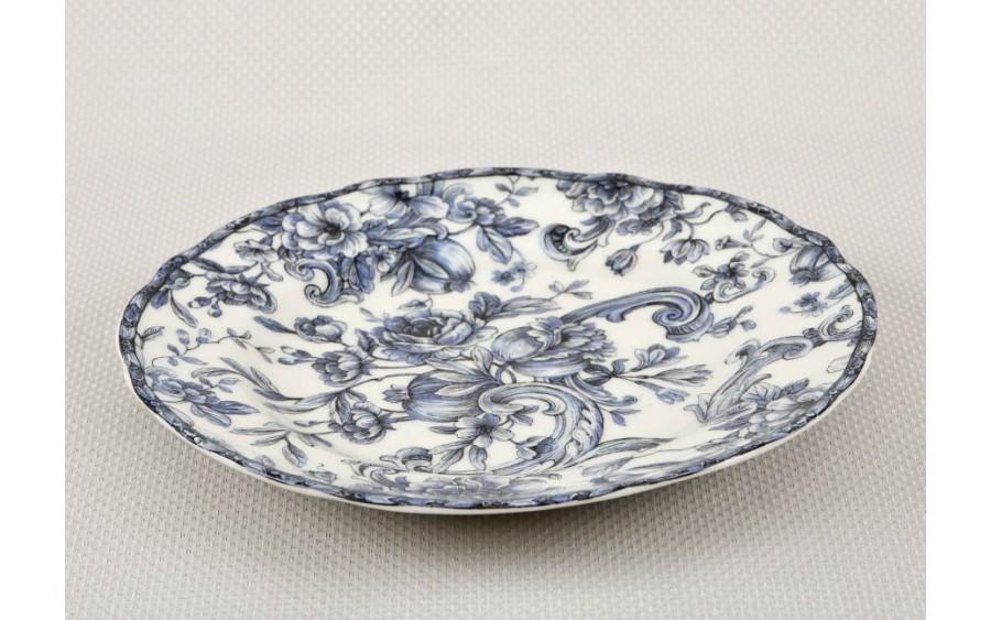 Talerz deserowy 22 cm Mara Blue