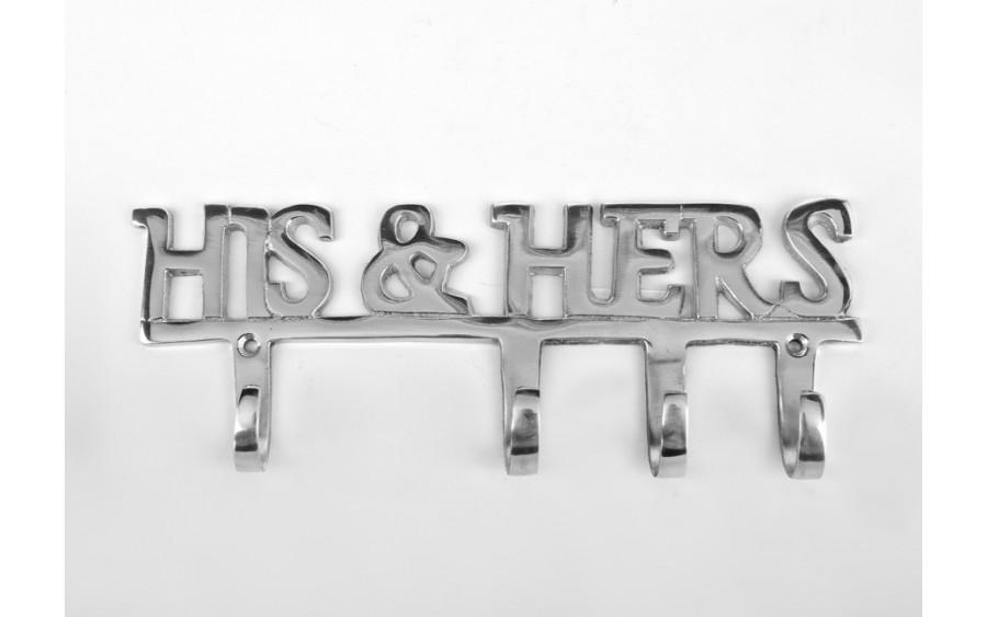 Wieszak HIS&HERS (4 haki)